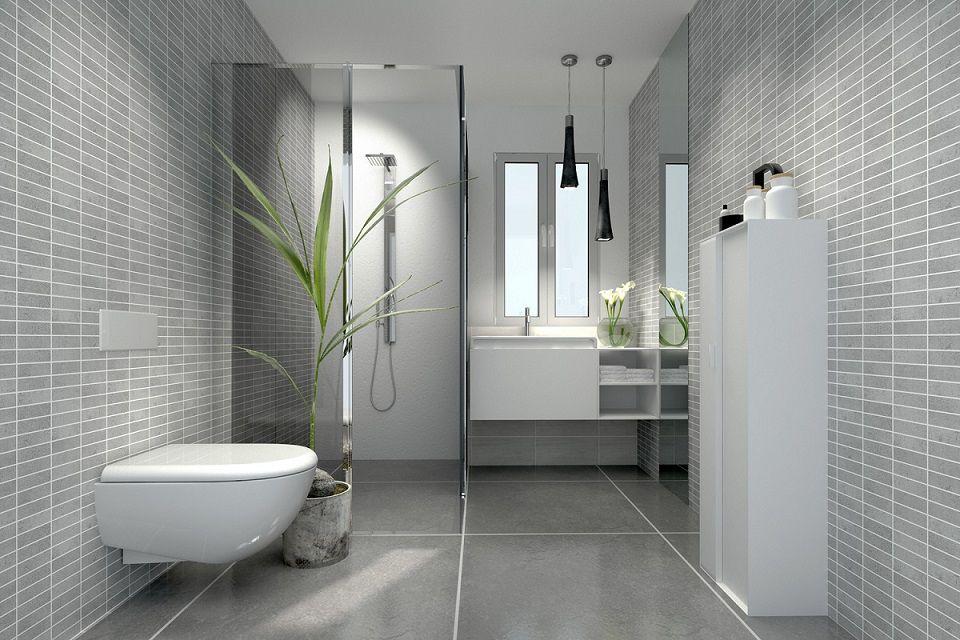 oświetlenie małej łazienki - aranżacje