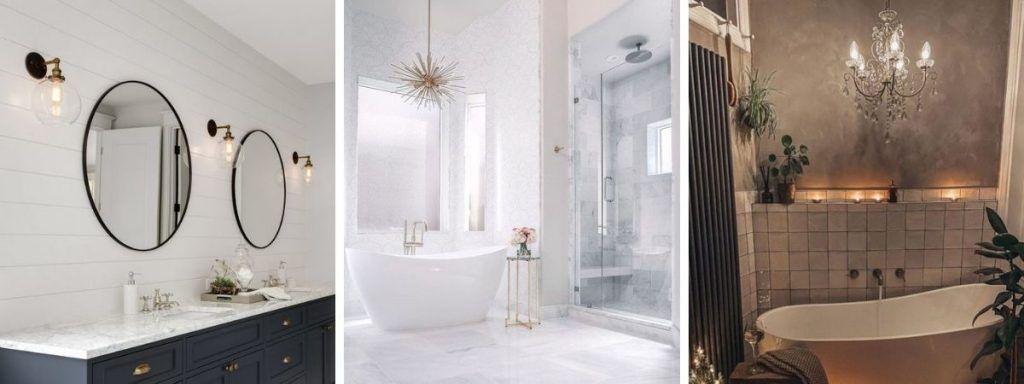 eleganckie lampy do łazienki