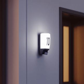 Kinkiet zewnętrzny L1B do podświetlenia numeru domu