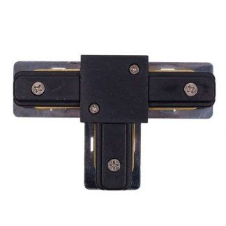 Łącznik T-connector - system szynowy Profile, czarny