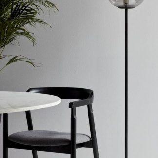 Lampa podłogowa Alton do oświetlenia biurka