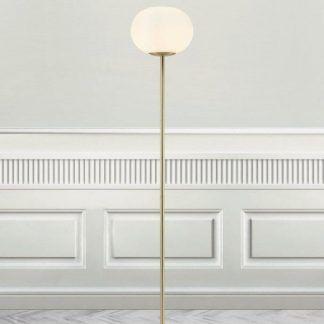 Lampa podłogowa Alton do pięknego salonu przy sofie