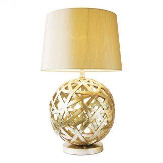 Lampa stołowa Balthazar na szafkę w salonie
