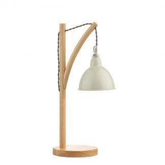 Lampa stołowa Blyton na biurko w gabinecie