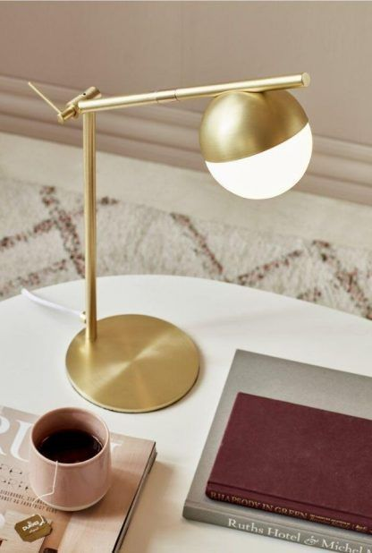 Lampa stołowa Contina do domowego biura
