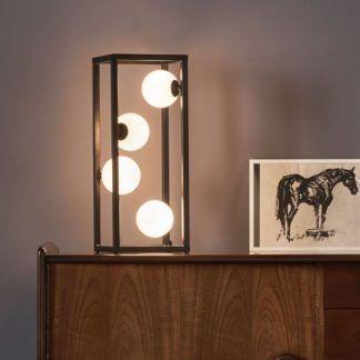 Lampa stołowa Ensio do nowoczesnego salonu