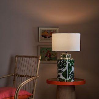 Lampa stołowa Filip na szafkę w sypialni