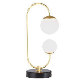 Lampa stołowa Toro do eleganckiej sypialni