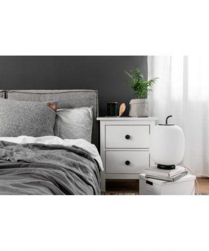 Lampa stołowa/podłogowa do stylowej sypialni
