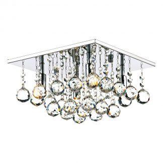 Lampa sufitowa Abacus do pięknej sypialni