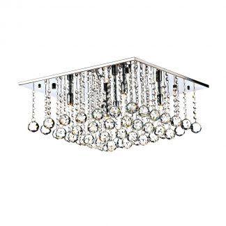 Lampa sufitowa Abacus do salonu glamour