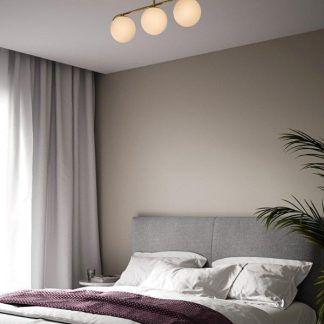 Lampa sufitowa Grant do minimalistycznej sypialni