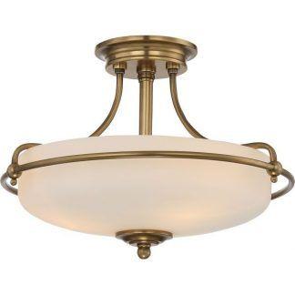 Lampa sufitowa Griffin do gabinetu