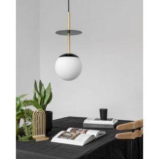 Lampa sufitowa Plaat Brass jako oświetlenie gabinetu