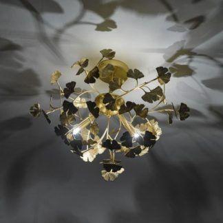 Lampa sufitowa Yadira do salonu lub sypialni
