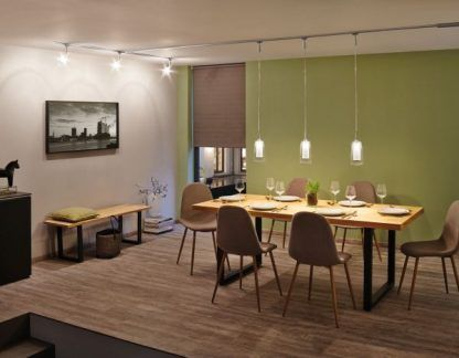 Lampa wisząca Arido nad stół w jadalni