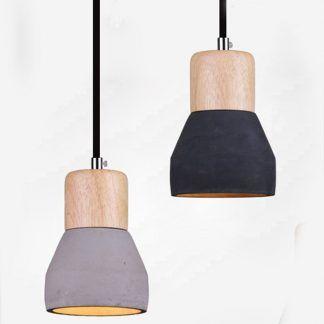 Lampa wisząca Concrete do przedpokoju