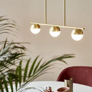 Lampa wisząca Contina nad stół w jadalni