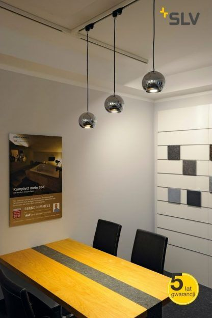 Lampa wisząca Eye nad stół w jadalni