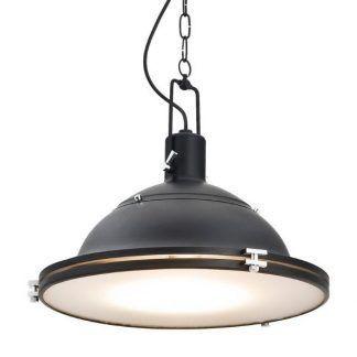 Lampa wisząca Kampos jako doświetlenie salonu