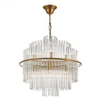 Lampa wisząca Lukas do salonu