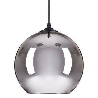 Lampa wisząca Mirror Glow do nowoczesnego salonu