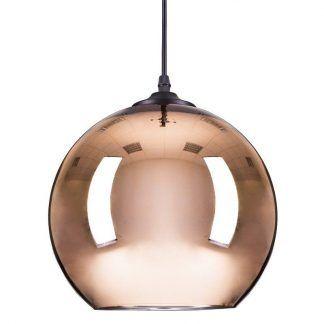 Lampa wisząca Mirror Glow do stylowej kuchni