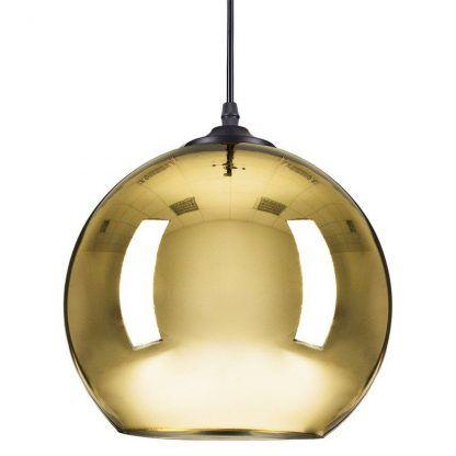 Lampa wisząca Mirror Glow M nad wyspę w kuchni