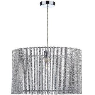 Lampa wisząca Nest do eleganckiej sypialni