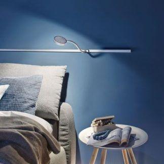 Lampka do czytania Discus w sypialni