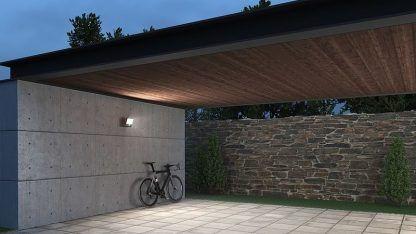 Naświetlacz XLED One Sensor przed dom
