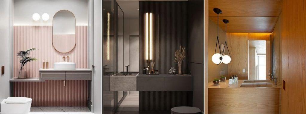 nowoczesne oświetlenie do łazienki