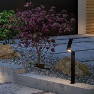 Oprawa solarna Ilias jako słupek ogrodowy