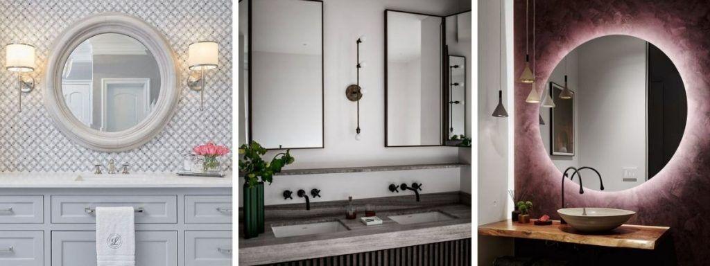 oświetlenie łazienkowego lustra