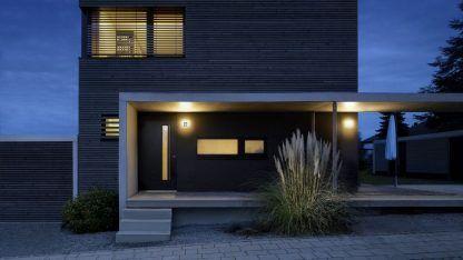 elewacja podświetlany numer domu