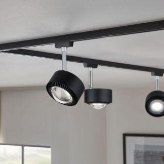 Reflektor sufitowy Aldan do minimalistycznego salonu