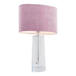 Stołowa lampa Prato do eleganckiej sypialni