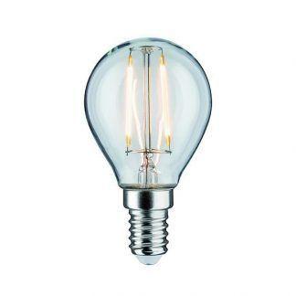 Transparentna żarówka LED - E14, 4,8W, 2700K, ściemnialna