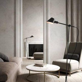 Lampa podłogowa Stay do gabinetu