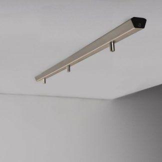 Srebrna listwa montażowa do lamp wiszących Nordlux