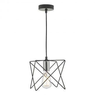 Lampa wisząca Midi nad szafkę w salonie