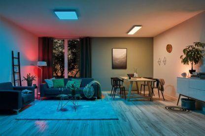 nowoczesna lampa led RGB
