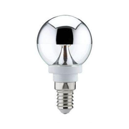 Żarówka dekoracyjna - E14, srebrna