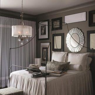 Żyrandol Mona do pięknej sypialni