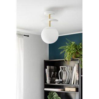 Lampa sufitowa Plaat B do nowoczesnej sypialni