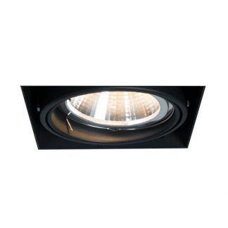 Czarne oczko sufitowe Oneon do nowoczesnej kuchni