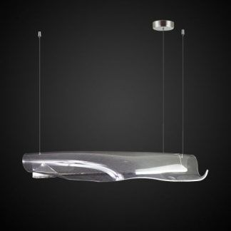 Lampa wisząca Linea do nowoczesnej jadalni