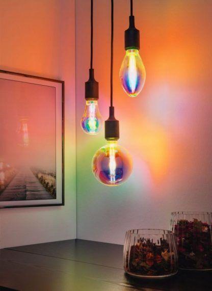 Duża żarówka Fantastic colors G95 - LED, E27, 2700K