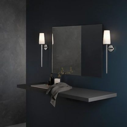 Elegancki kinkiet Deauville do lustra w łazience