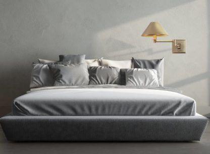 Kinkiet Cracow do stylowej sypialni